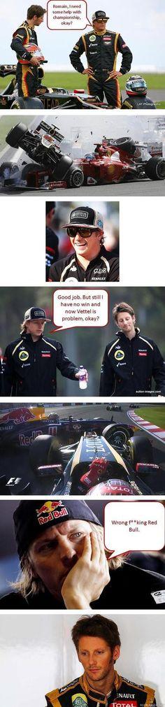 Romain, I need some help with championship, okay?