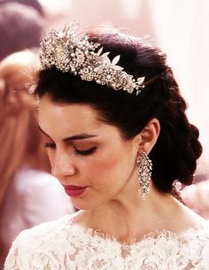 """Wearing a crown on your wedding day, how presumptuous."" ""I have married a King…"