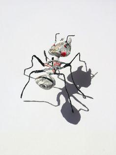 Martha Arango--paper mache