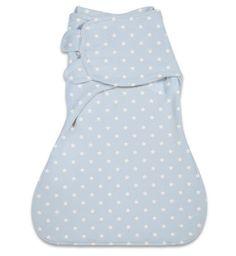 Summer Infant Конверт для пеленания с 2 способами фиксации SwaddleMe WrapSack Woof Woof (голубой со звездочками), размер L  — 2000р.  WADDLEME® WrapSack Конверт для пеленания с 2 способами фиксации