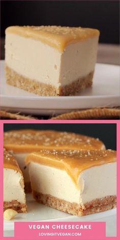 Best Vegan Recipes, Vegan Sweets, Healthy Dessert Recipes, Healthy Baking, Baking Recipes, Dairy Free Cheesecake, Mini Cheesecake, Vegan Cheesecake Recipes, Vegan Cheescake