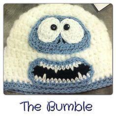 Free Crochet Pattern. Bumble Hat ( Abominable Snowman Rudolf )