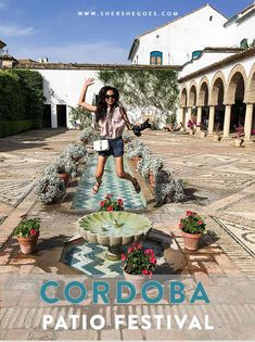 Visit Cordoba during the Flower Patio Festival to see some of the most beautiful examples of Andalusian architecture in Spain.