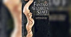 Carving Wizard Staff - Wood Carving Patterns and Techniques | WoodArchivist.com