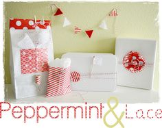 Pretty Packages: Peppermint and Lace Theme