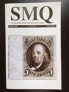 SMQ Stamp Market Quarterly Guide Book PSE Graded Stamps Vol 8 No.1 Winter 2009