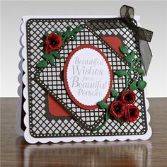 Buy Tonic Trellis Square Base Die Set from CreateAndCraft.tv