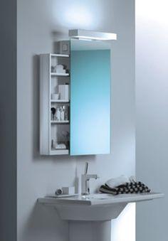 Bathroom Mirror Cabinets Blue Color (256×368)