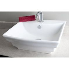 Bathroom Sinks Kijiji elite ceramic rectangular vessel bathroom sink drain finish: oil