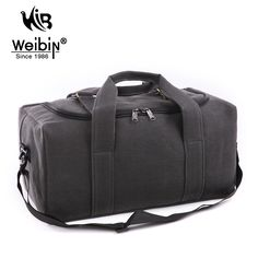 Weibin Women Travel Bags Canvas Simple Style Travel Bags For Men Large Capacity Luggage Duffle Bags  Folding Bag For Trip 2017