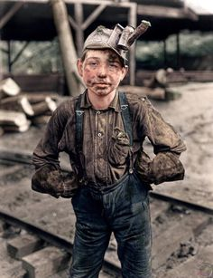 11 year old Coal Miner, 1908