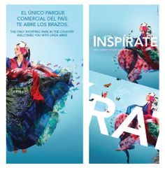 Campaña Inspírate. El Tesoro Parque Comercial. www.bonsaicrea.com