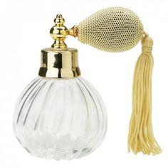Clear Glass Atomiser Perfume Bottle  www.bizou.be