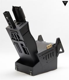 F-16 black, GHOST ejection seat