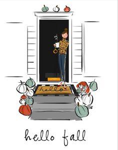 Mug Art, Hello Weekend, Hello Autumn, Tent Camping, Halloween, Lily, Mugs, Drawings, Happy
