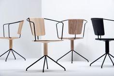 ronan   erwan bouroullec subtly carve uncino chair for mattiazzi - designboom   architecture