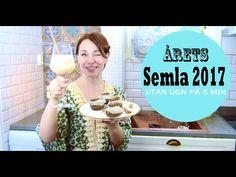 Årets semla 2017 utan ugn på 5 minuter! (Vegan, glutenfri, mjölkfri, sockerfri) - YouTube