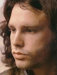 """Jim Morrison 1943-1971. The #Doors. """"I wouldn't mind dying in a plane crash.  It'd be a good way to go.  I don't want to die in my sleep, or of old age, or OD.  I want to feel what it's like.  I want to taste it, hear it, smell it.  Death is only going to happen once.  I don't want to miss it."""" That did not happen - he died of an overdose."""