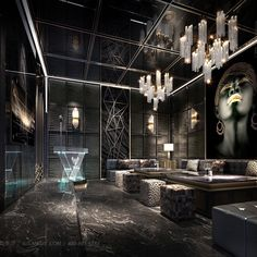 Interior Design Images, Contemporary Interior Design, Bathroom Interior Design, Hotel Lounge, Bar Lounge, Secret Rooms In Houses, Hookah Lounge Decor, Home Bar Rooms, Nightclub Design
