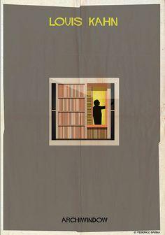 Federico Babina - Louis Kahn, Archiwindow