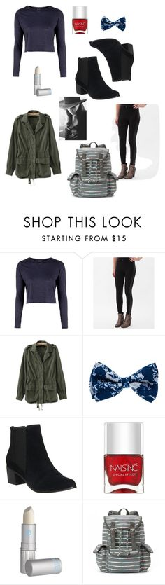"""""""daily inspo"""" by vivianrose-11 on Polyvore featuring Topshop, Celebrity Pink, Office, Nails Inc., Lipstick Queen, Candie's and Cushnie Et Ochs"""