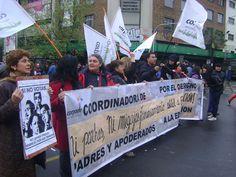 Padres y apoderados en marcha CONFECH 11/abril/2013