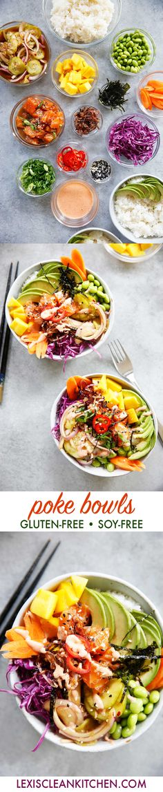 How to Make Poke Bowls at Home + Kamikoto Knives Giveaway | Lexi's Clean Kitchen