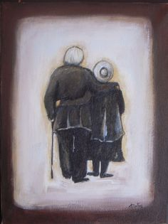 Forever in Love - Original Acrylic Painting - Couple painting - Figures Painting…