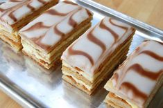 Napoleons (Mille Feuille) My all time favorite dessert