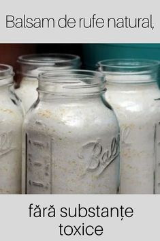 Mason Jars, Life Hacks, Home And Garden, Cleaning, Homemade, Healthy, Great Ideas, Mason Jar, Hand Made