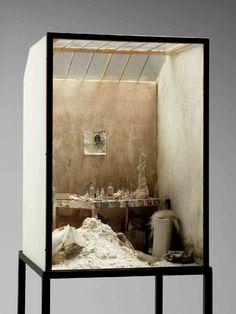 Charles Matton . atelier de Giacometti, 1987