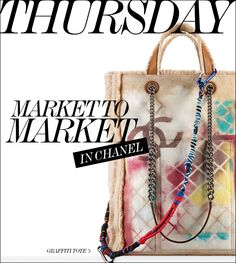 7 DAYS OF CHANEL // Thursday Market to Market