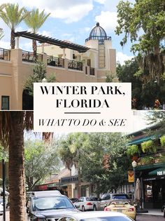 Winter Park Florida: What To Do and See. What To Do in Orlando. Orlando outside of Disney World. Things To Do near Disney World.
