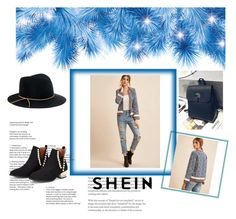 """shein 2"" by almedina-buljic ❤ liked on Polyvore featuring Eugenia Kim"