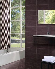Lotus Wengue Dlazba 31,6x31,6 BA - KACHLIČKOVO - Obklady a dlažby Showroom, Bathtub, Bathroom, Standing Bath, Washroom, Bathtubs, Bath Tube, Full Bath, Bath