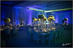 The Fontainebleau | Photography: Alain Martinez | #CarrieZack #weddings…