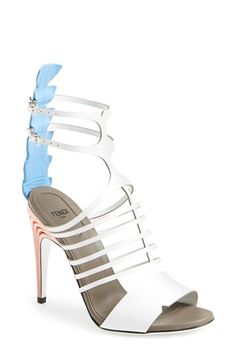 Fendi+Cage+Ankle+Strap+Sandal+(Women)+available+at+#Nordstrom