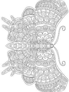 Giclee Print: Winged Things 33 by Hello Angel : Butterfly Coloring Page, Flower Coloring Pages, Mandala Coloring Pages, Colouring Pages, Coloring Books, Coloring Sheets, Detailed Coloring Pages, Free Adult Coloring Pages, Printable Coloring Pages