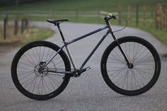 SingleBe Bikes! - 29er Custom Belt Drive Steel Single-Speed Trail