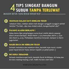 """Allah di Instagram """"Tips Singkat Bangun Subuh 😊💪"""" Hijrah Islam, Muslim Quran, Reminder Quotes, Self Reminder, Pray Quotes, Life Quotes, Islamic Inspirational Quotes, Islamic Quotes, Muslim Religion"""