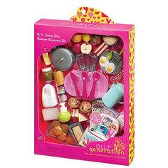Our Generation Pegged Accessory - RV Camper Set For 18 in dolls of all types Playtime never ends, check for out all our doll outfits and accessories Doll Sold Separately American Girl Doll Room, Ropa American Girl, American Girl Furniture, American Girl Crafts, American Girl Accessories, Baby Doll Accessories, Og Dolls, Girl Dolls, Shopkins