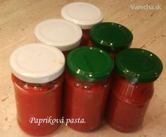 Papriková pasta (fotorecept) Salsa, Jar, Tableware, Food, Dinnerware, Tablewares, Essen, Salsa Music, Meals