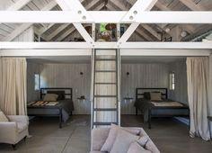 Amanda Pays and Corbin Bernsen LA bunkhouse   Remodelista