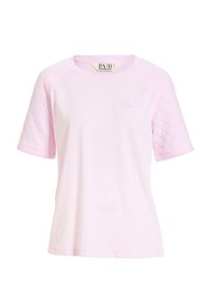 Image for Quilted Sleeve Tee from Peter Alexander