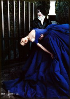 I adore Dita's Wedding Gown. More so the blue hue (like it's pictured here) rather than when it appears purple.