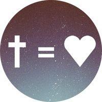 cross equals love.