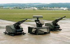 Oerlikon Skyshield Air Defence System.