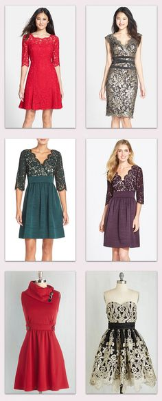 Gorgeous Holiday Dresses for ALL those holiday parties that are about to start!