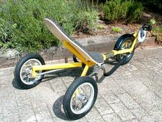 Thinking of Buying a Motorcycle Bicycle Sidecar, Tricycle Bike, Trike Motorcycle, Bicycle Art, Bicycle Design, Traction Avant, Recumbent Bicycle, Reverse Trike, Chopper Bike