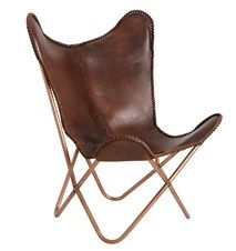 Butterfly chair - Brun - Nordal